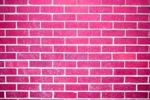Hot Pink Brick Wall Texture - Free High Resolution Photo