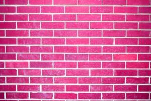 Hot Pink Brick Wall Texture - Free High Resolution Photo