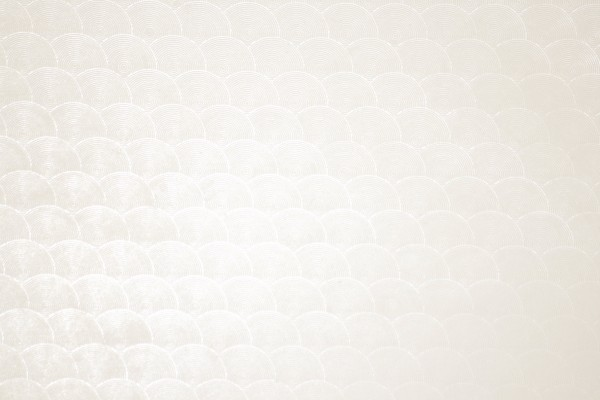 Ivory or Off White Circle Patterned Plastic Texture - Free High Resolution Photo