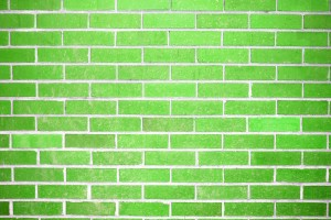 Lime Green Brick Wall Texture - Free High Resolution Photo