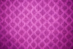 Magenta Dish Towel with Diamond Pattern Texture - Free High Resolution Photo