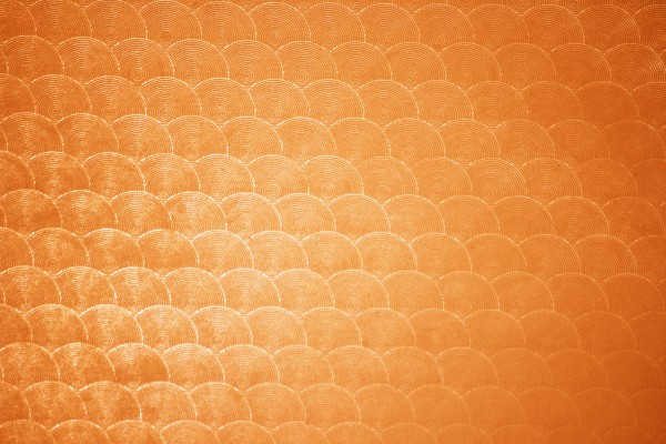 Orange Circle Patterned Plastic Texture - Free High Resolution Photo