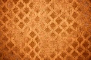 Orange Dish Towel with Diamond Pattern Texture - Free High Resolution Photo