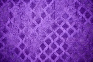 Purple Dish Towel with Diamond Pattern Texture - Free High Resolution Photo