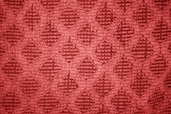 Red Dish Towel with Diamond Pattern Close Up Texture - Free High Resolution Photo