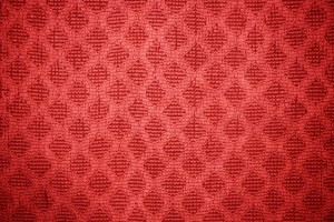 Red Dish Towel with Diamond Pattern Texture - Free High Resolution Photo
