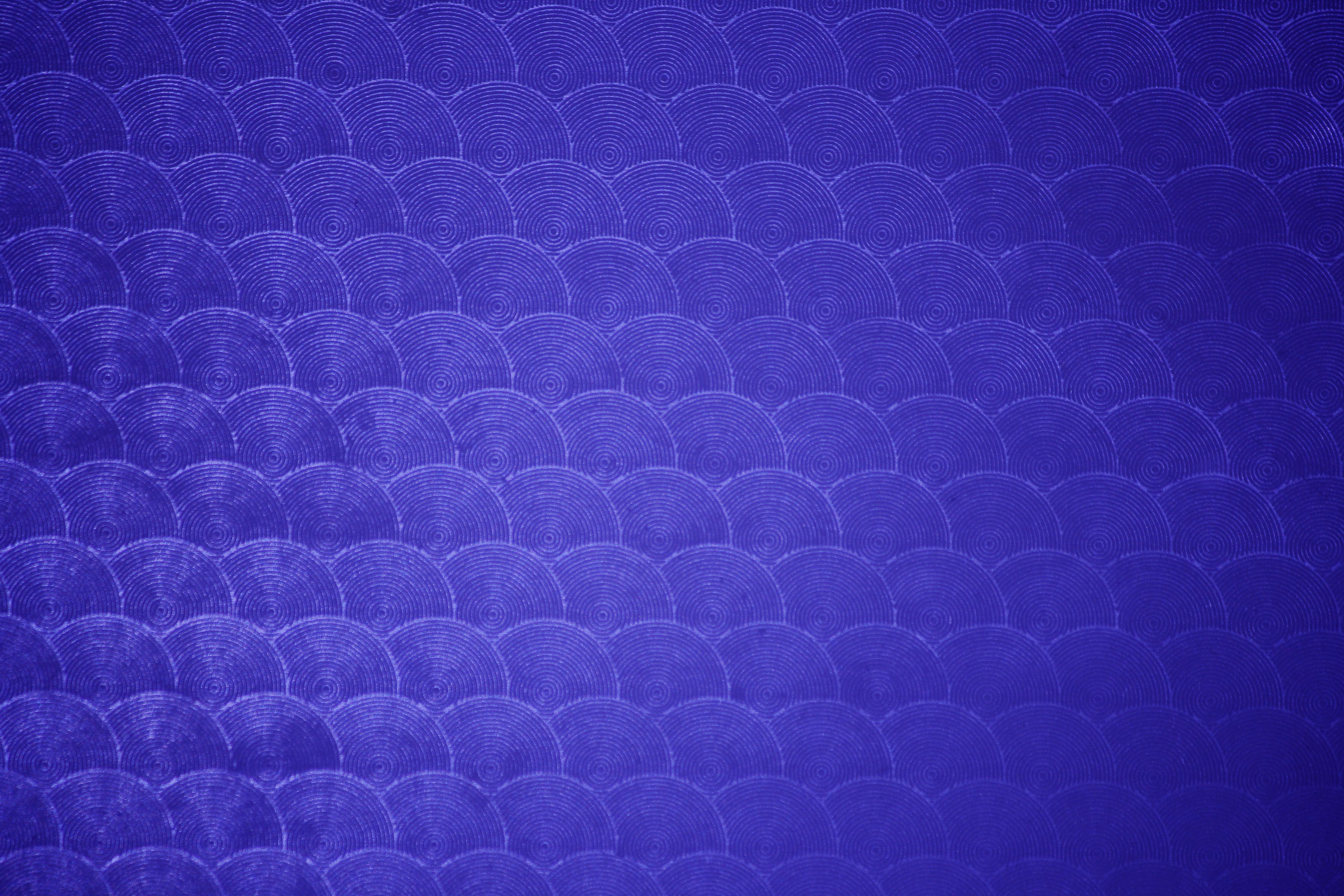 Royal Blue Circle Patterned Plastic Texture Picture