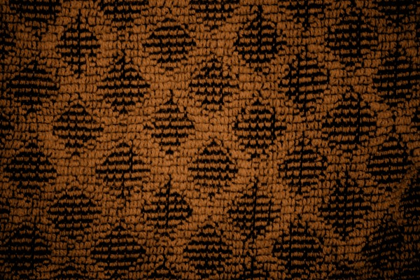 Rust Brown Dish Towel with Diamond Pattern Close Up Texture - Free High Resolution Photo