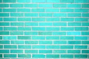 Teal Brick Wall Texture - Free High Resolution Photo