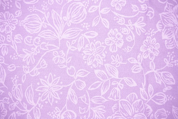 Lavender Fabric with Floral Pattern Texture - Free High Resolution Photo