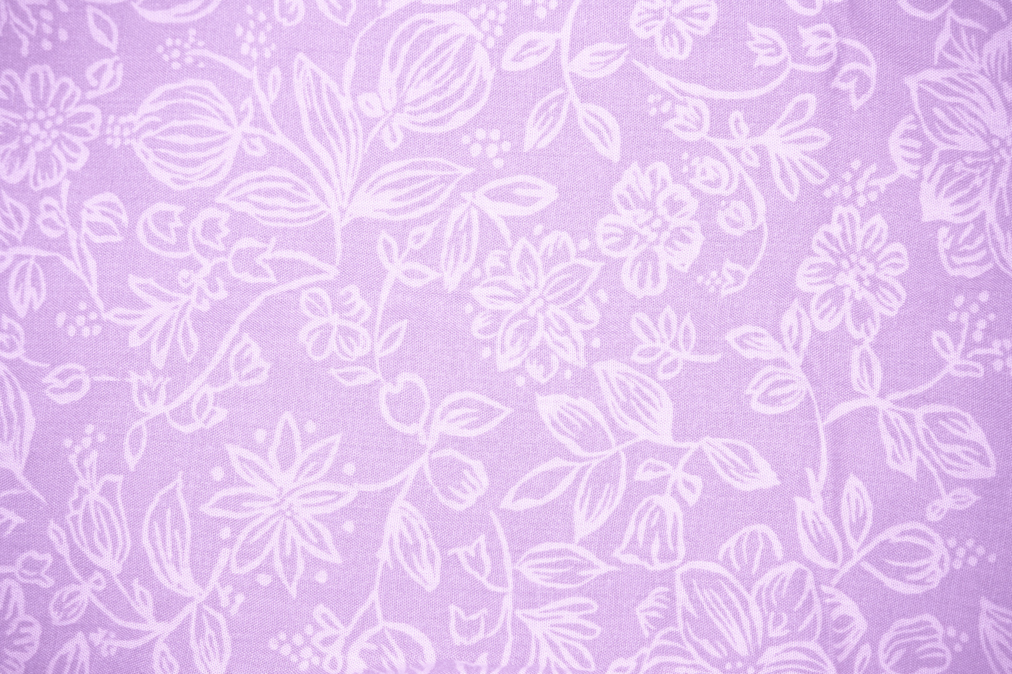 lavender fabric with floral pattern texture � photos