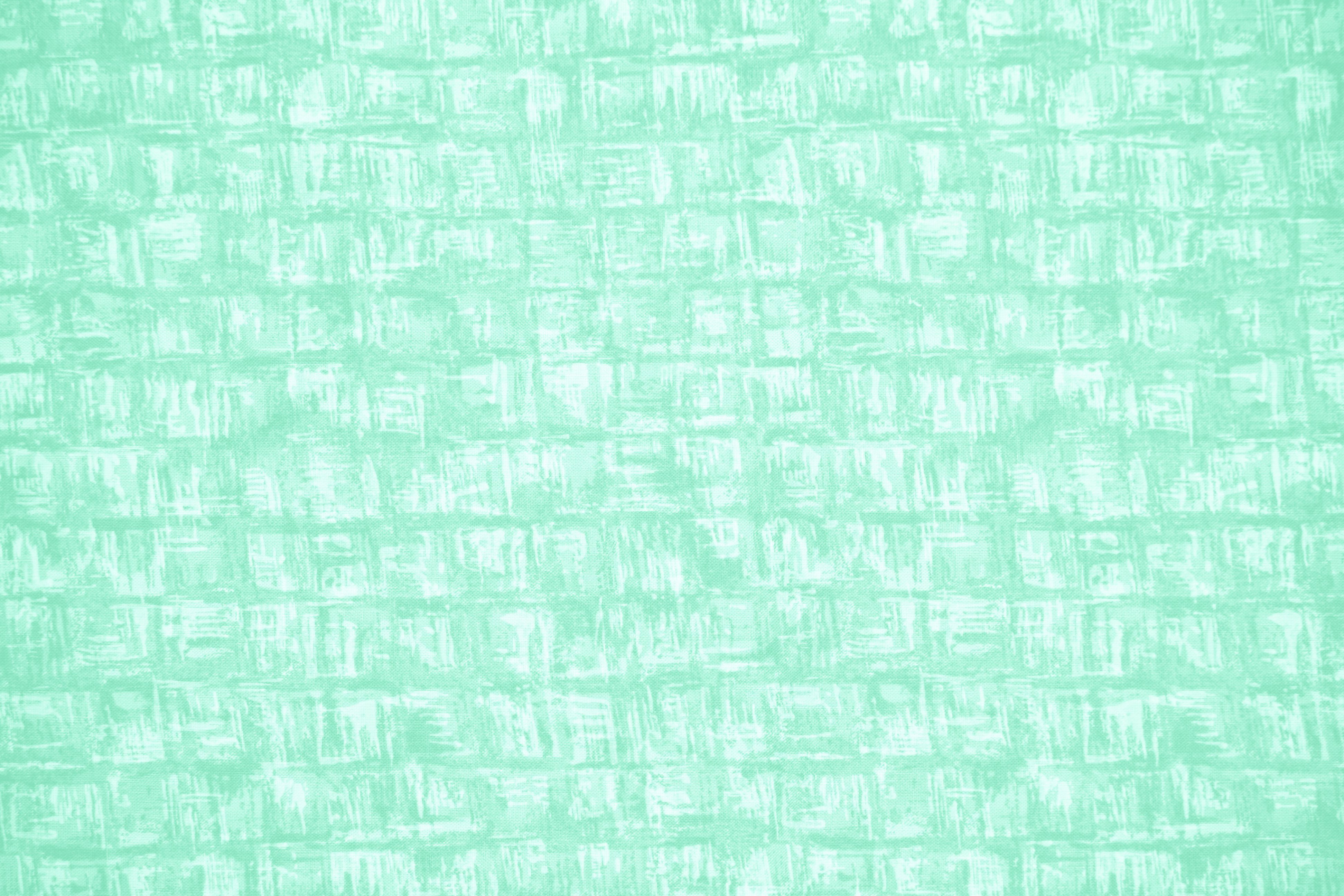 Mint Green Abstract Squares Fabric Texture Picture Free