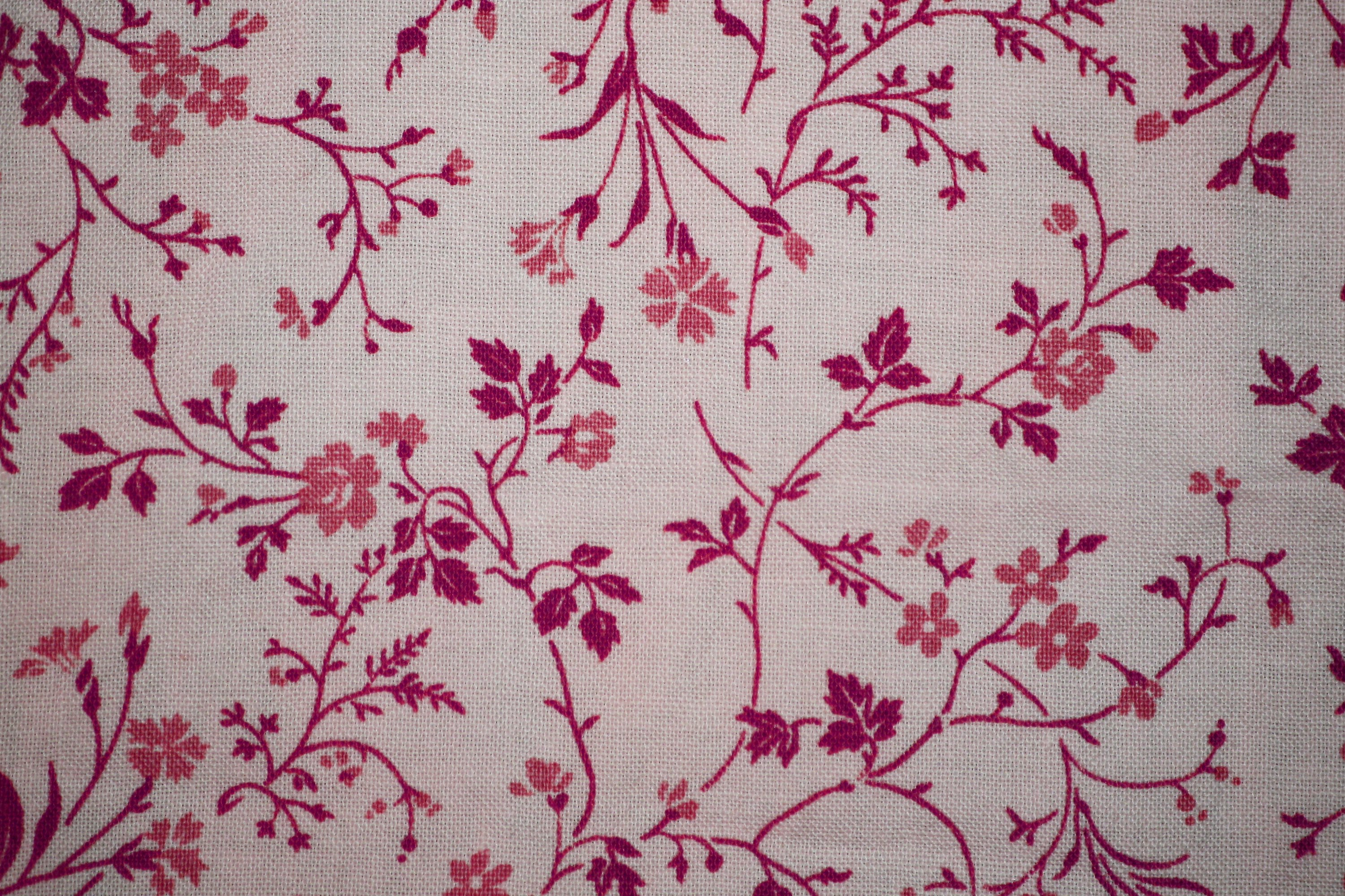 Pink on white floral print fabric texture picture free photograph pink on white floral print fabric texture mightylinksfo