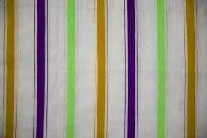 Striped Fabric Texture Green, Gold and Purple on White - Free High Resolution Photo