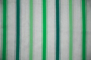 Striped Fabric Texture Green on White - Free High Resolution Photo
