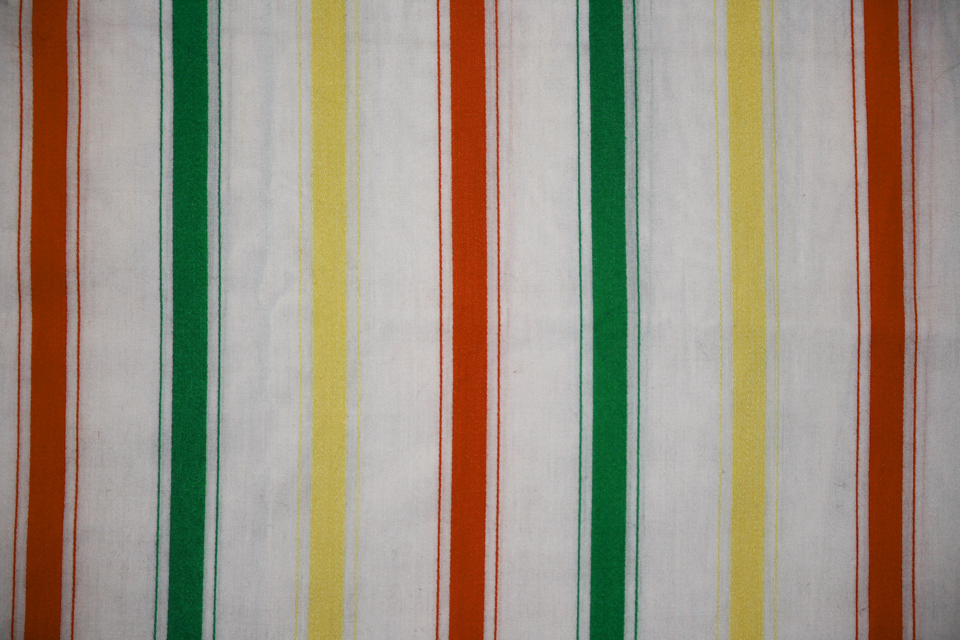 Striped Fabric Texture Orange, Green and Yellow on White - Free High ...: www.photos-public-domain.com/2012/06/24/striped-fabric-texture...