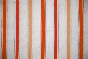Striped Fabric Texture Orange on White - Free High Resolution Photo