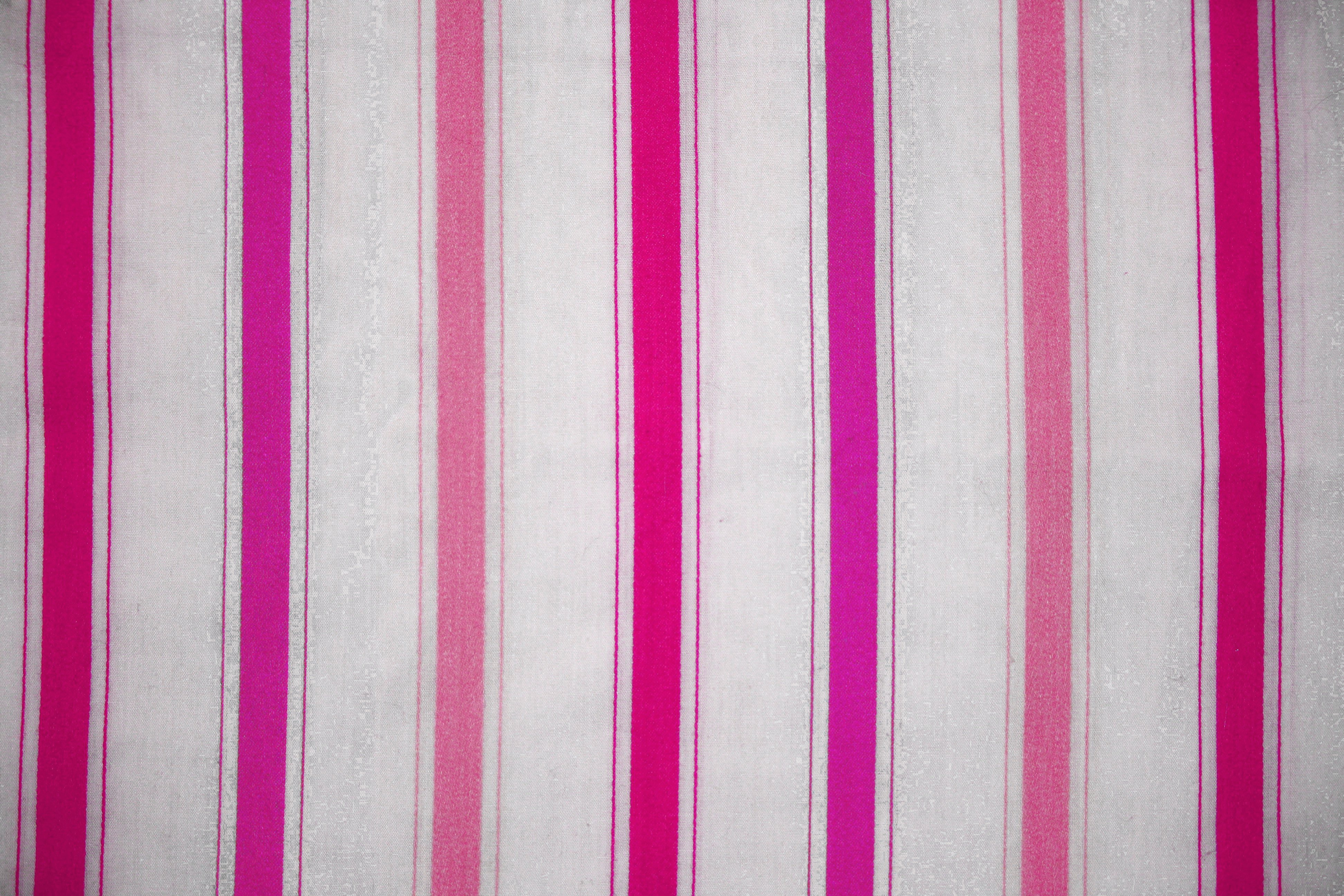 Pink fabric texture free high resolution photo dimensions 3888 - Striped Fabric Texture Pink On White