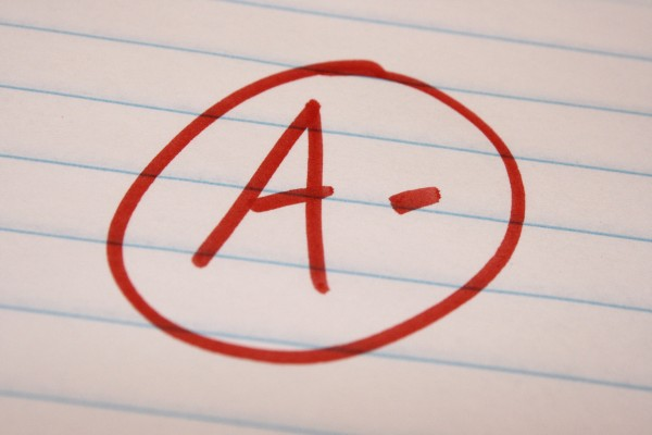 A Minus School Letter Grade - Free High Resolution Photo