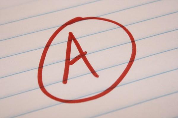 Grade A School Letter Grade - Free High Resolution Photo