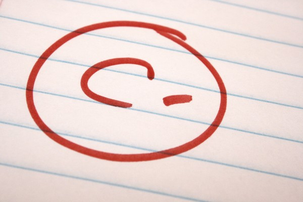 C Minus School Letter Grade - Free High Resolution Photo