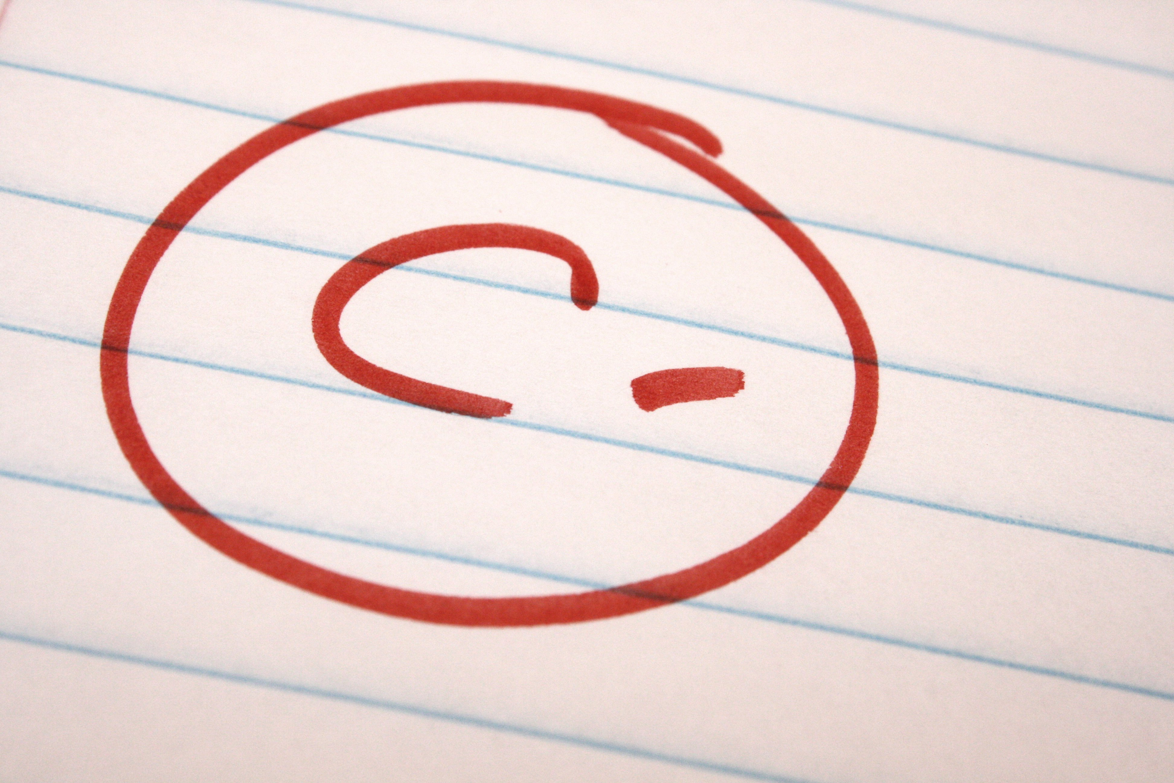 School Letter Grades c Minus School Letter Grade