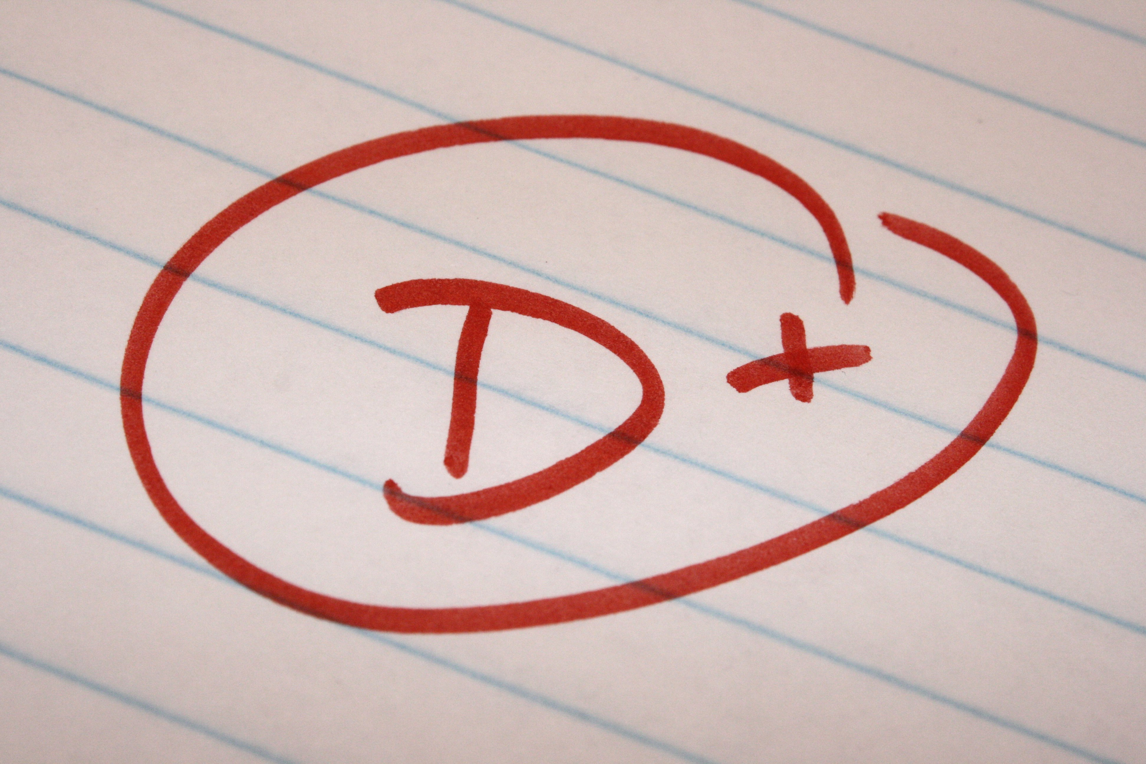 School Letter Grades d Plus School Letter Grade