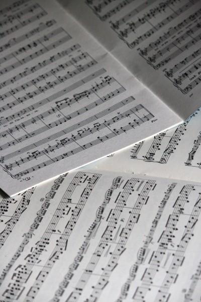 Printed Sheet Music - Free High Resolution Photo