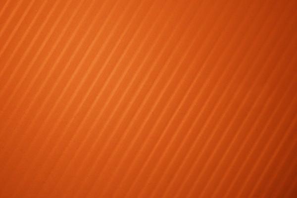 Pumpkin Orange Diagonal Striped Plastic Texture - Free High Resolution Photo