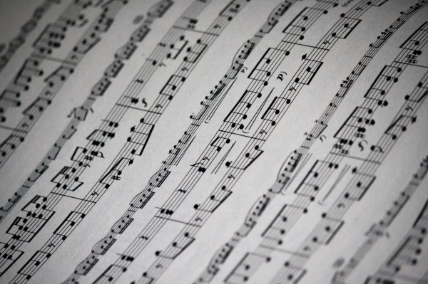 Sheet Music Texture - Free High Resolution Photo