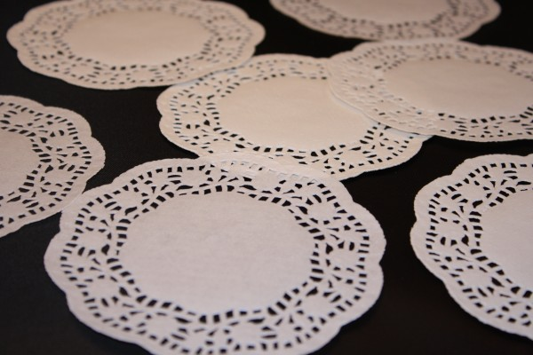 White Paper Doilies - Free High Resolution Photo