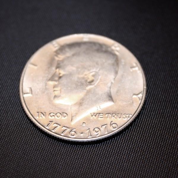 US Bicentennial 50 Cent Coin - Free High Resolution Photo
