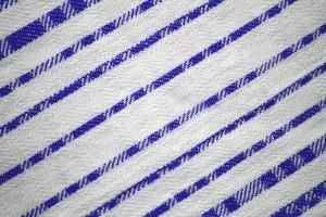 Blue on White Diagonal Stripes Fabric Texture - Free High Resolution Photo