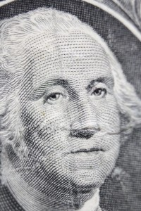 George Washington Dollar Bill Macro - Free High Resolution Photo