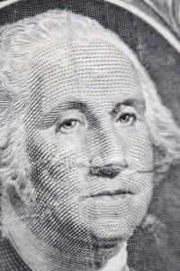 George Washington Dollar Bill Macro - Free High Resolution Photo