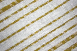 Gold on White Diagonal Stripes Fabric Texture - Free High Resolution Photo