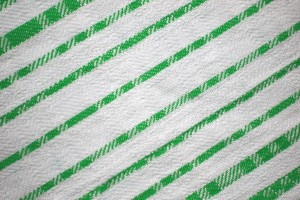 Green on White Diagonal Stripes Fabric Texture - Free High Resolution Photo