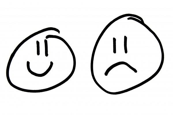 Happy Face Sad Face - Free High Resolution Photo