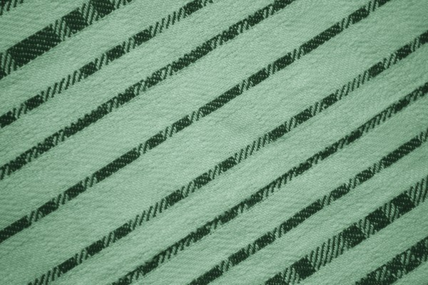 Light and Dark Green Diagonal Stripes Fabric Texture - Free High Resolution Photo
