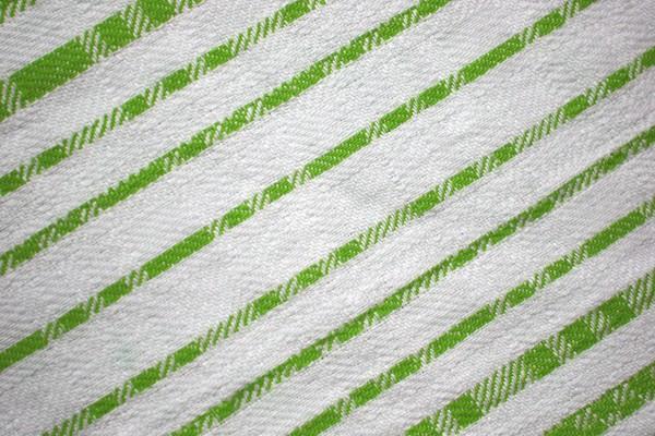 Lime Green on White Diagonal Stripes Fabric Texture - Free High Resolution Photo