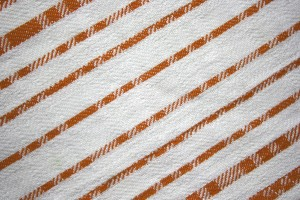 Orange on White Diagonal Stripes Fabric Texture - Free High Resolution Photo