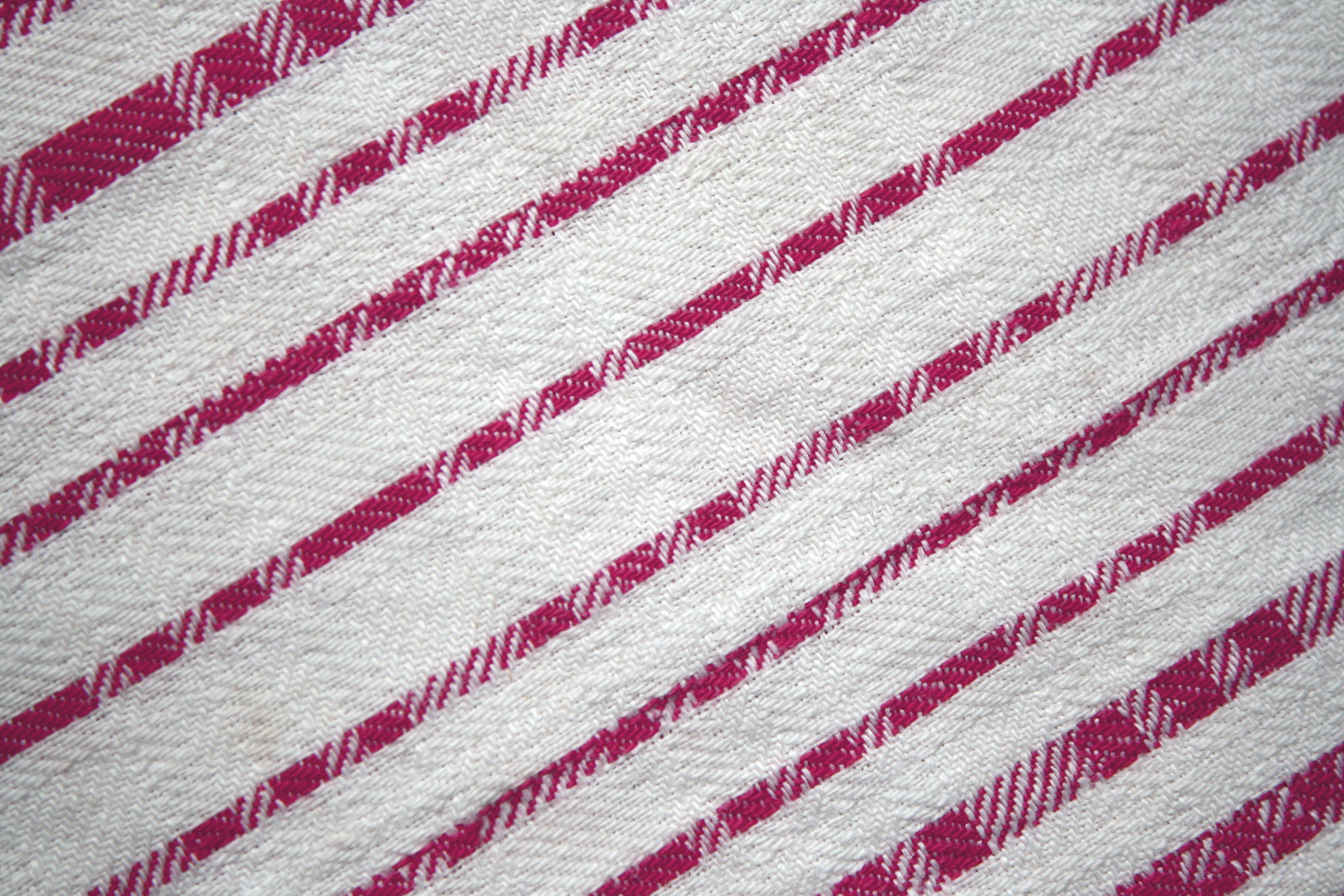 Pink fabric texture free high resolution photo dimensions 3888 - Pink On White Diagonal Stripes Fabric Texture