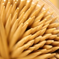 Toothpick Tips Macro - Free High Resolution Photo
