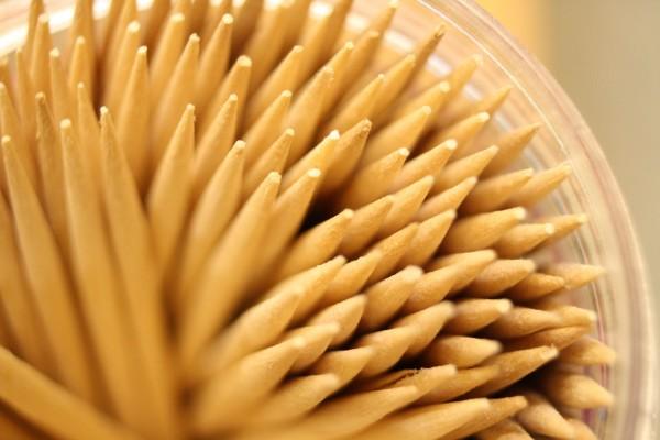 Toothpick Tips Macro - Free High Resolution Photo