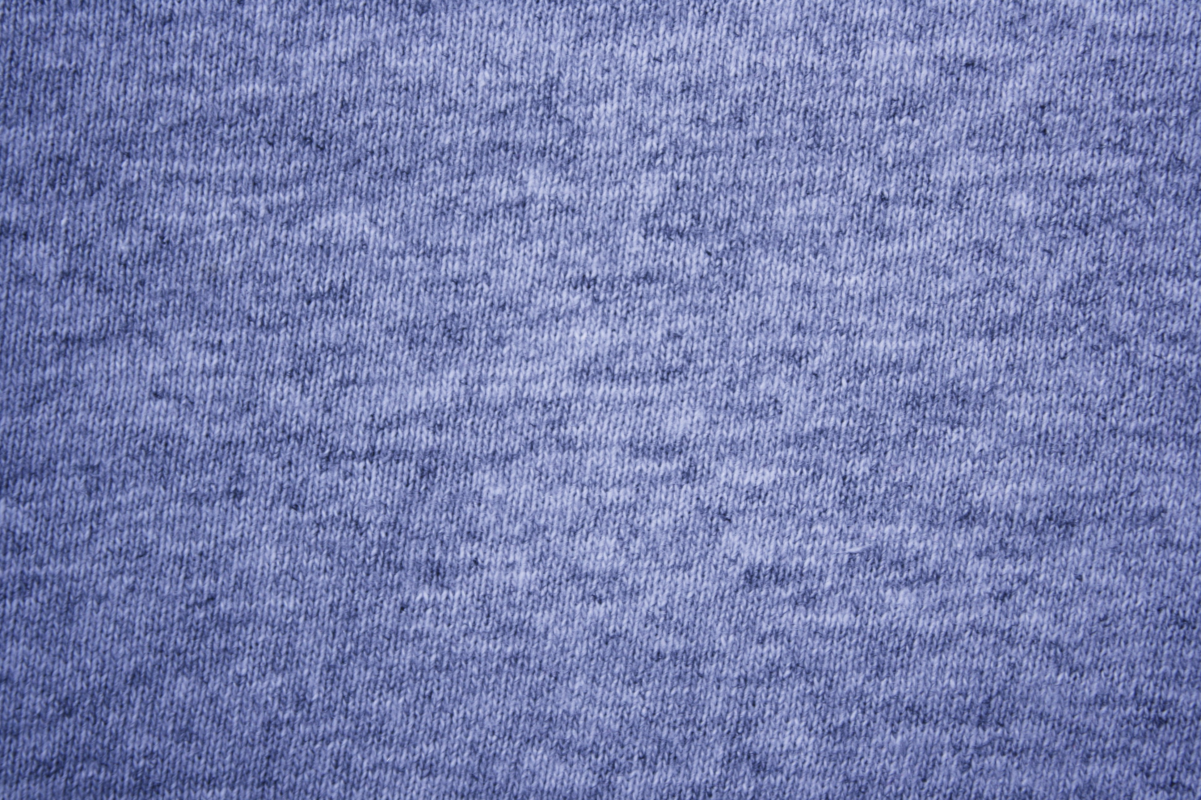 Blue Heather Knit T Shirt Fabric Texture Picture Free