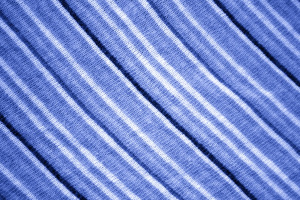 Diagonally Stripped Blue Knit Fabric Texture - Free High Resolution Photo