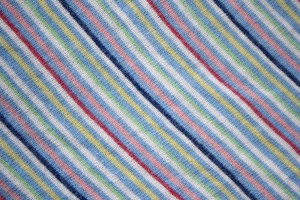 Diagonally Striped Knit Fabric Texture - Multicolored - Free High Resolution Photo