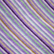 Diagonally Striped Knit Fabric Texture - Purple, Green and Gold - Free High Resolution Photo