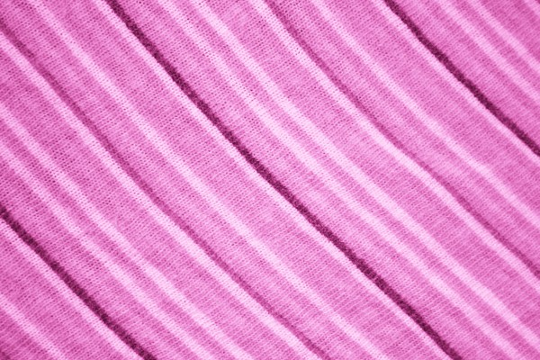 Diagonally Striped Pink Knit Fabric Texture - Free High Resolution Photo