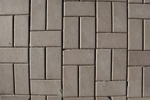 Gray Brick Pavers Sidewalk Texture - Free High Resolution Photo